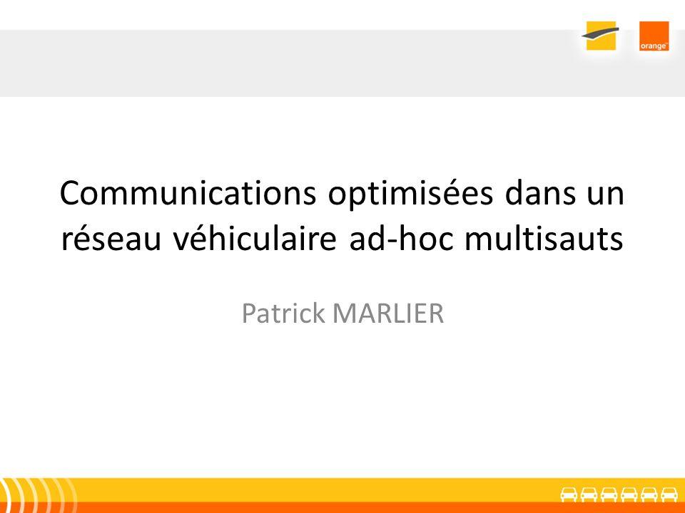 Communications optimisées dans un réseau véhiculaire ad-hoc multisauts