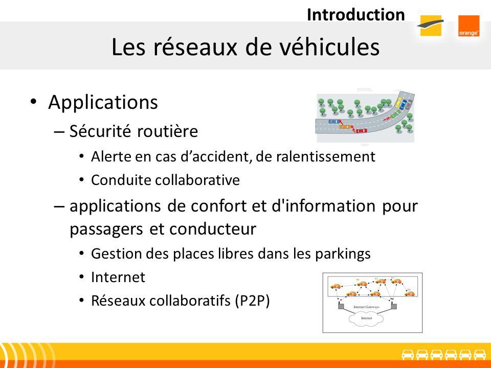 Les réseaux de véhicules