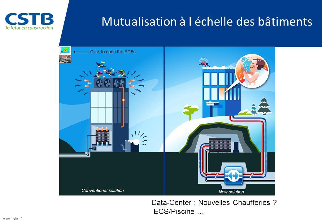 Mutualisation à l échelle des bâtiments