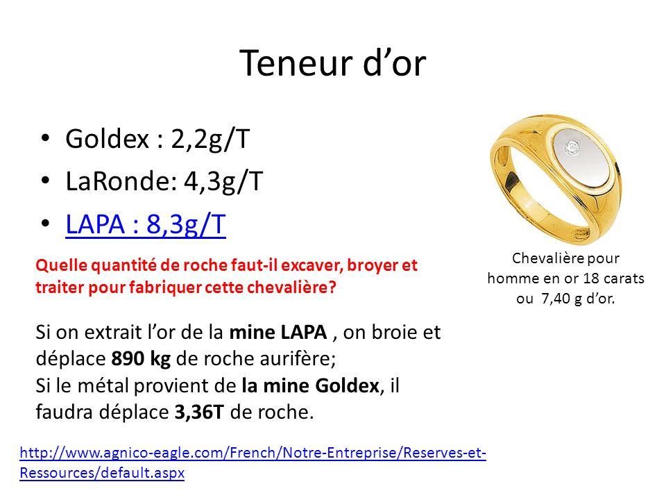 Chevalière pour homme en or 18 carats ou 7,40 g d'or.