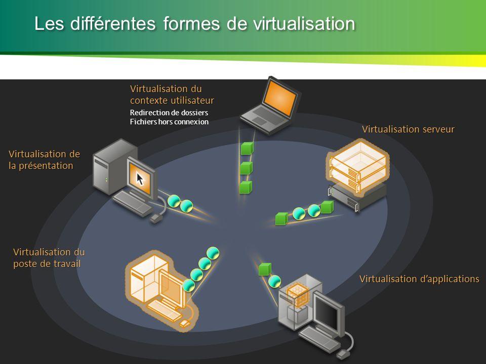 Les différentes formes de virtualisation