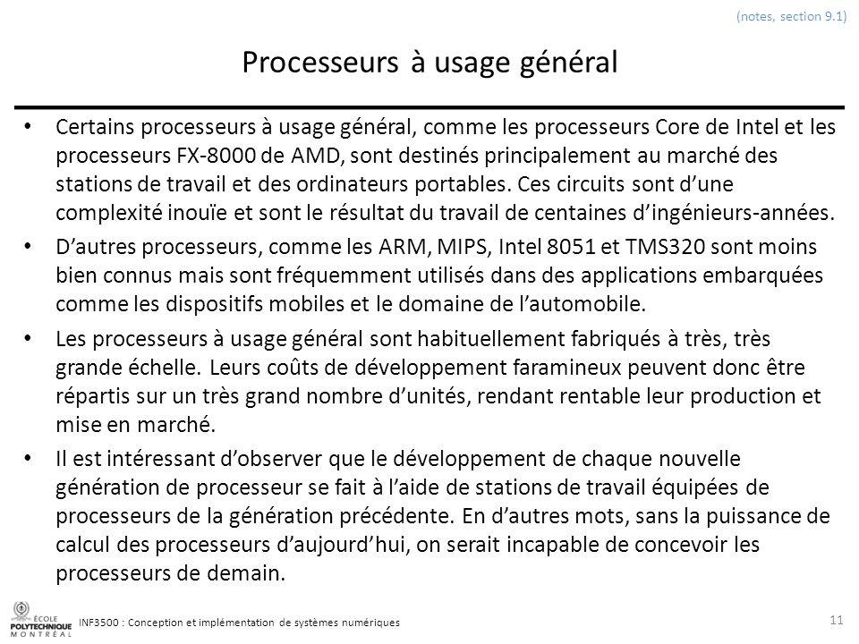 Processeurs à usage général