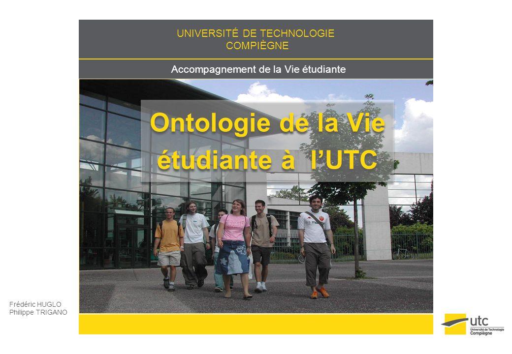 Ontologie de la Vie étudiante à l'UTC