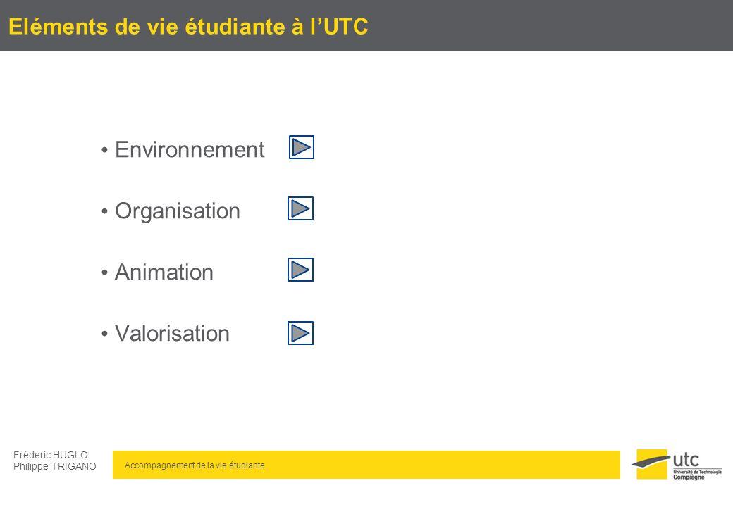 Eléments de vie étudiante à l'UTC