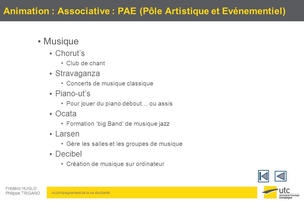 Animation : Associative : PAE (Pôle Artistique et Evénementiel)