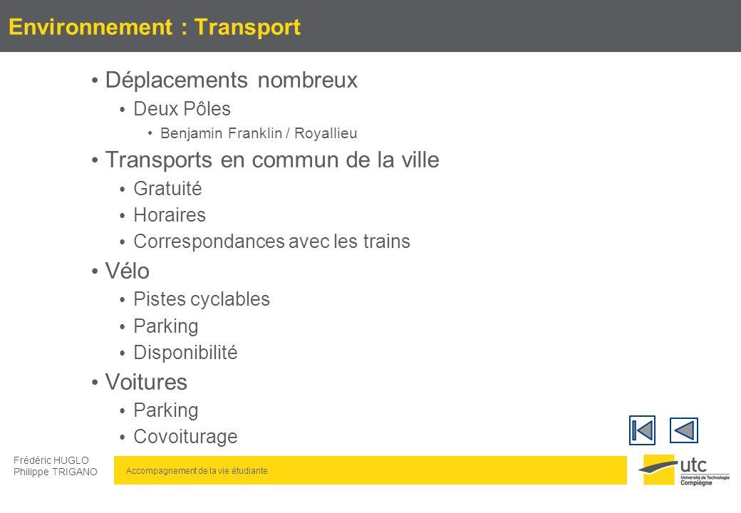 Environnement : Transport