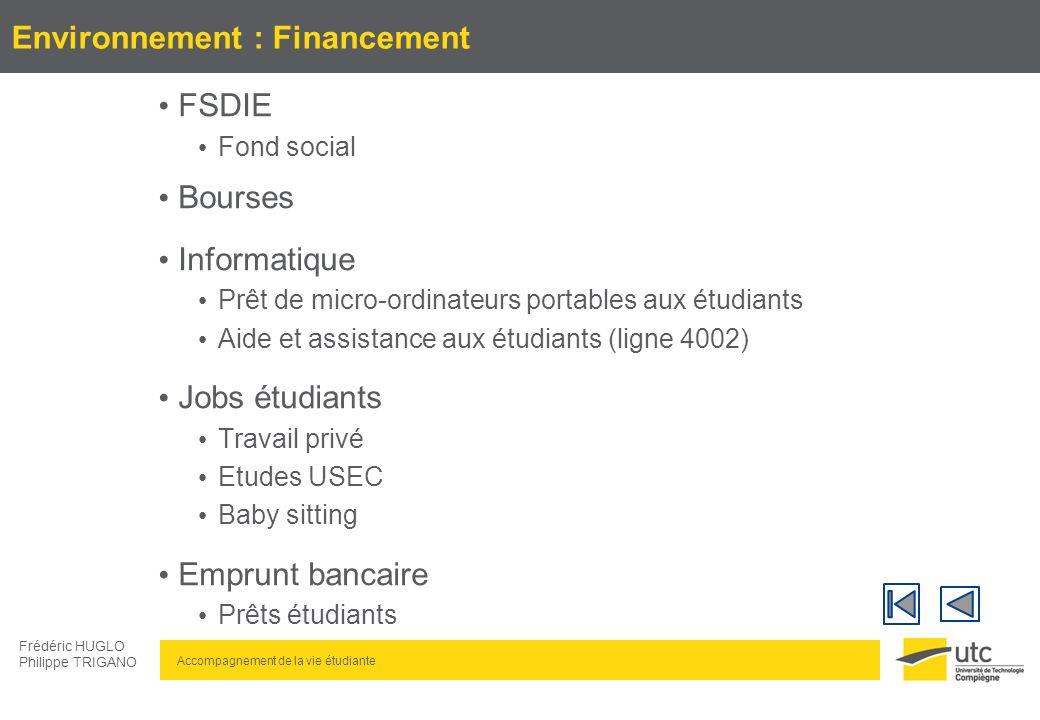 Environnement : Financement