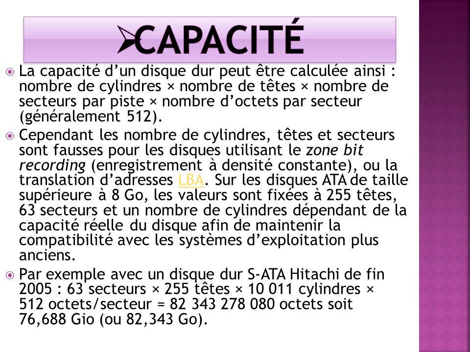 Capacité