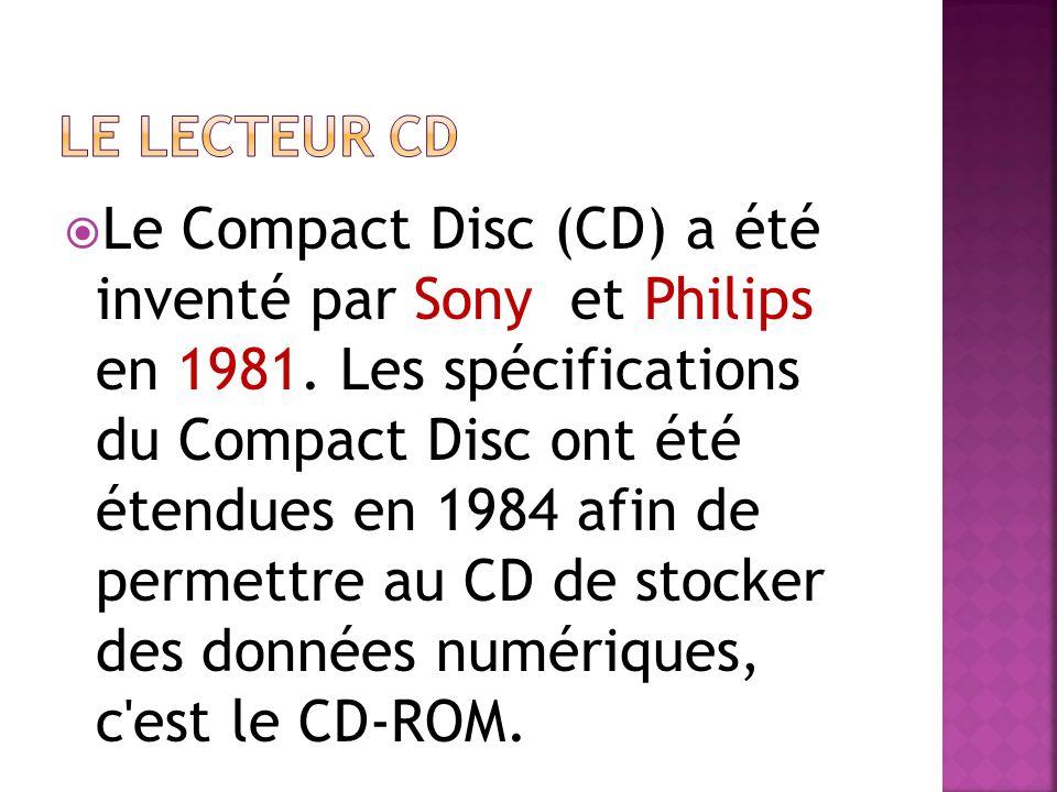 Le lecteur cd