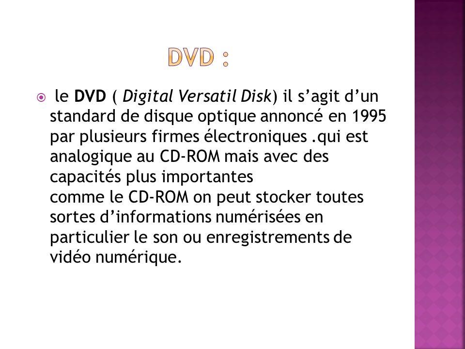 Dvd :