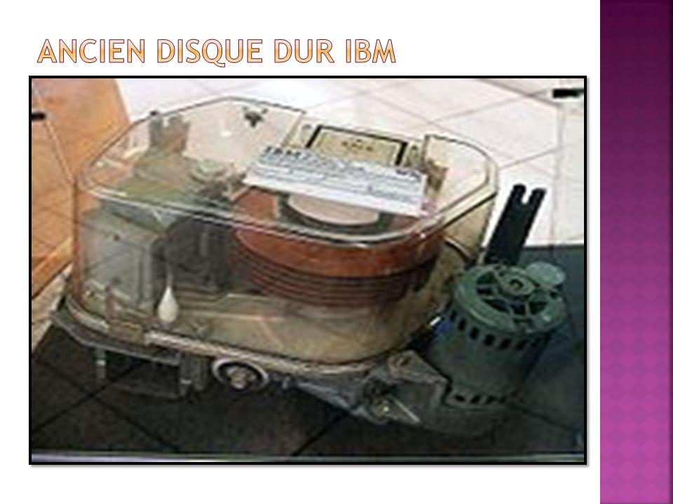 Ancien disque dur IBM