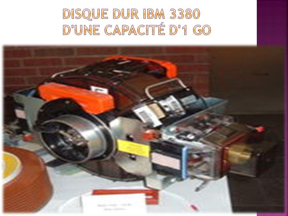 Disque dur IBM 3380 d une capacité d 1 Go