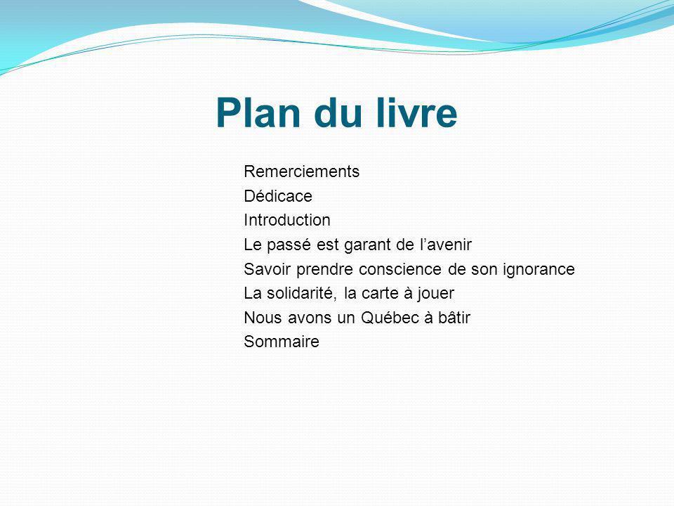 Plan du livre Remerciements Dédicace Introduction
