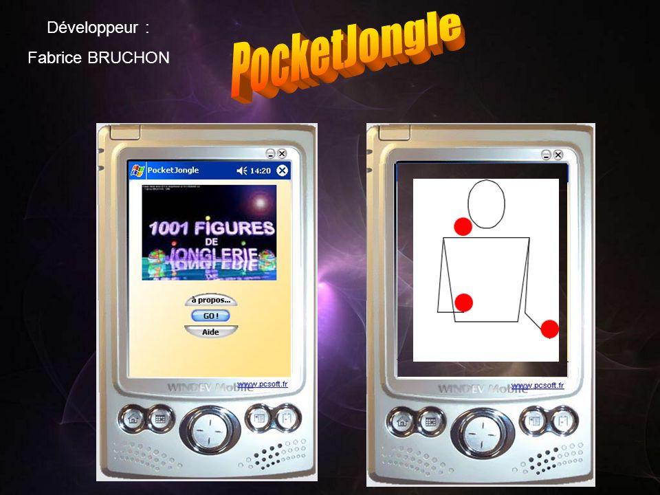 Développeur : Fabrice BRUCHON PocketJongle