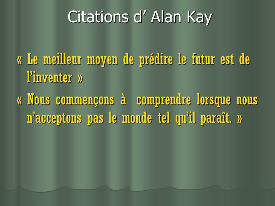 Citations d' Alan Kay