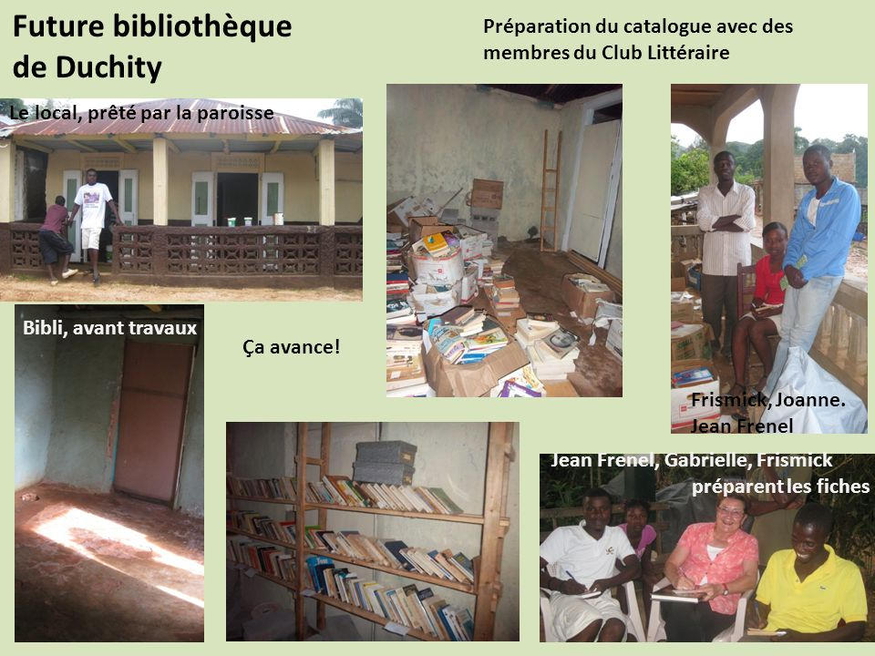 Future bibliothèque de Duchity