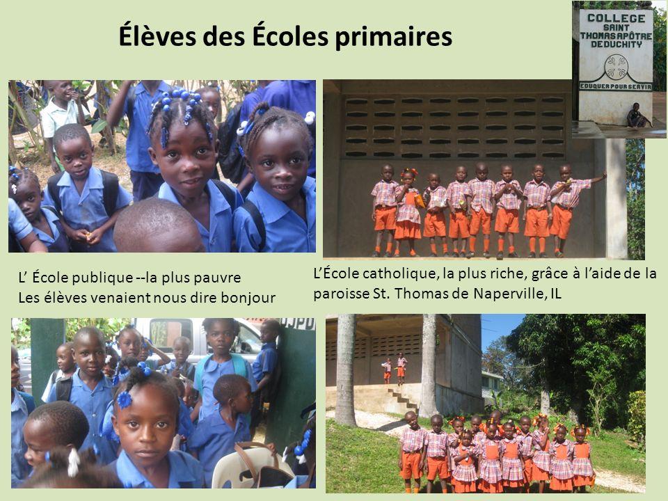 Élèves des Écoles primaires