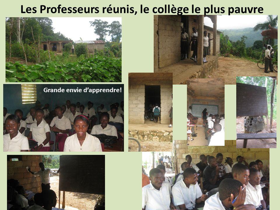Les Professeurs réunis, le collège le plus pauvre