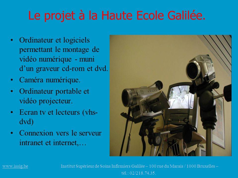 Le projet à la Haute Ecole Galilée.