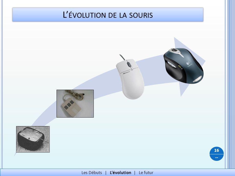 L'évolution de la souris