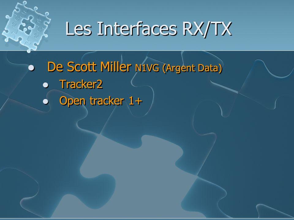 Les Interfaces RX/TX De Scott Miller N1VG (Argent Data) Tracker2