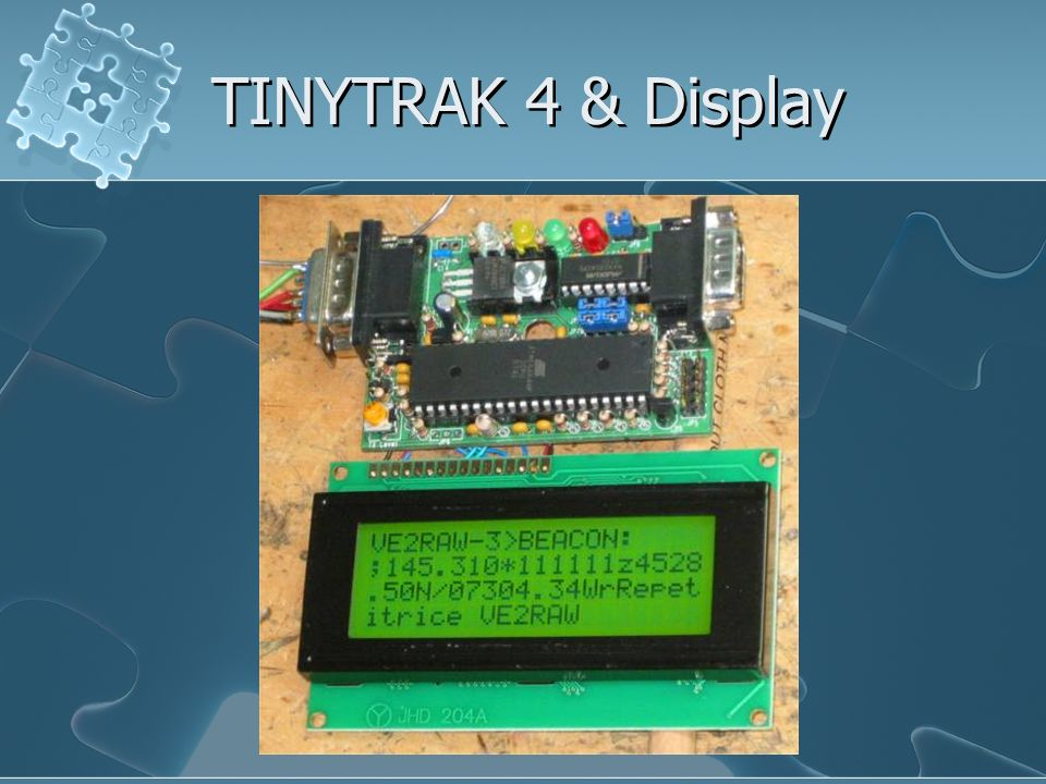 TINYTRAK 4 & Display
