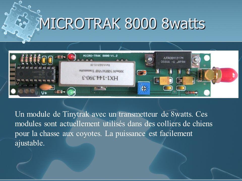 MICROTRAK 8000 8watts