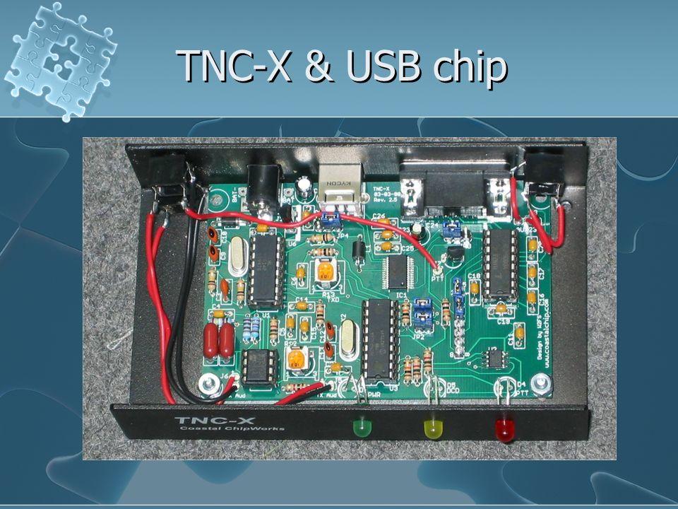 TNC-X & USB chip
