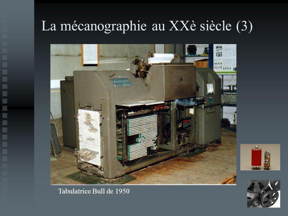 La mécanographie au XXè siècle (3)