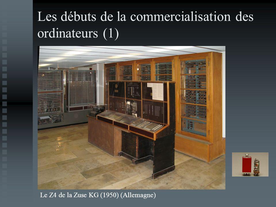 Les débuts de la commercialisation des ordinateurs (1)