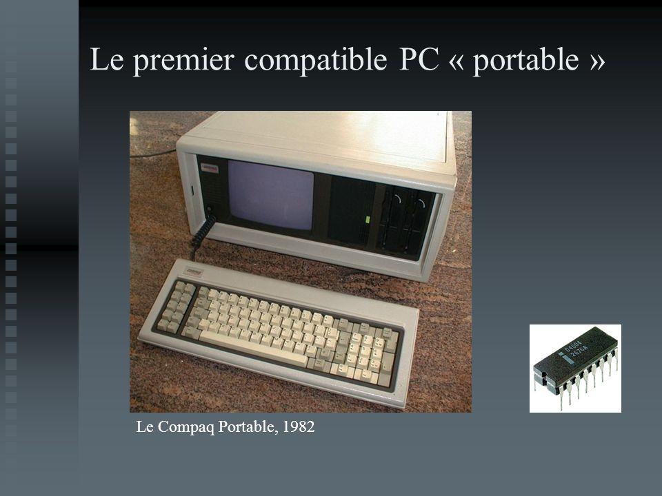 Le premier compatible PC « portable »