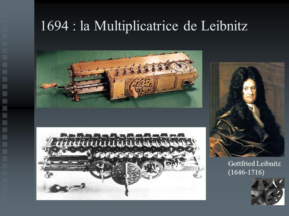 1694 : la Multiplicatrice de Leibnitz