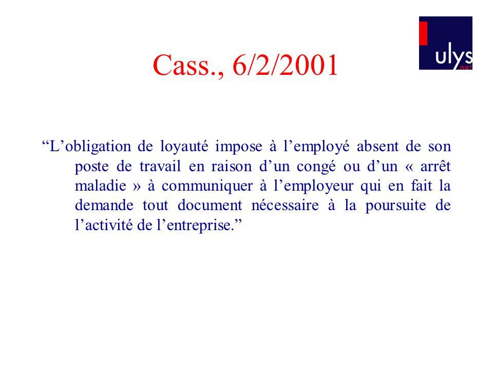 Cass., 6/2/2001
