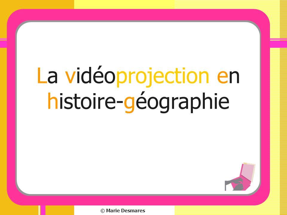 La vidéoprojection en histoire-géographie