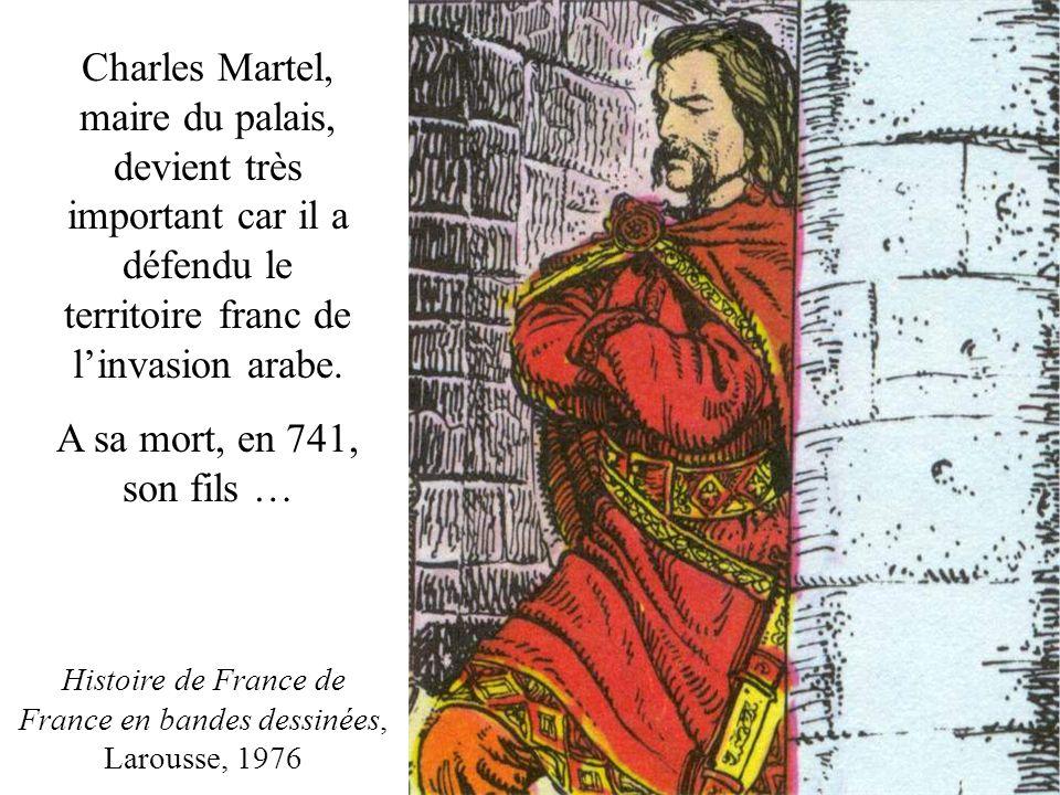 Histoire de France de France en bandes dessinées, Larousse, 1976