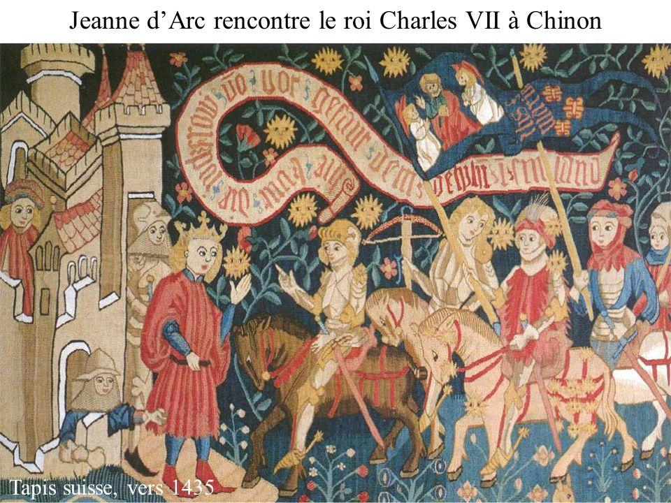 Jeanne d'Arc rencontre le roi Charles VII à Chinon