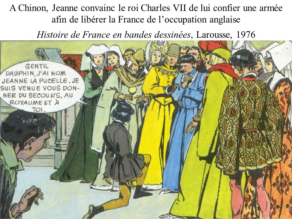 Histoire de France en bandes dessinées, Larousse, 1976