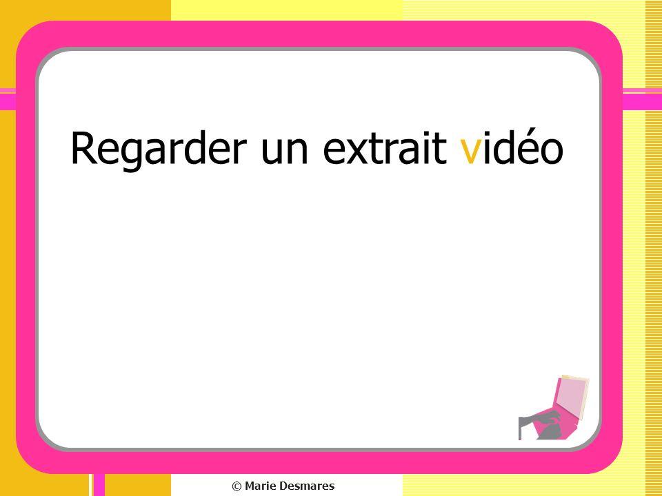 Regarder un extrait vidéo