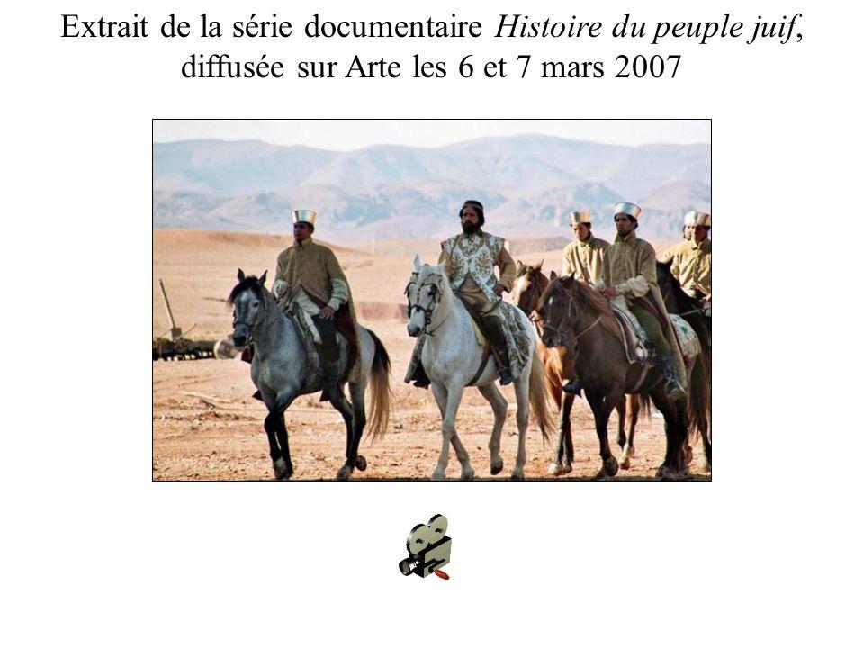 Extrait de la série documentaire Histoire du peuple juif,