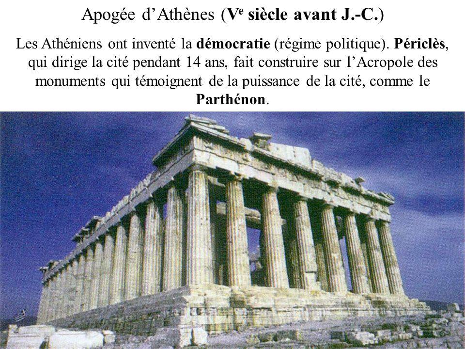 Apogée d'Athènes (Ve siècle avant J.-C.)