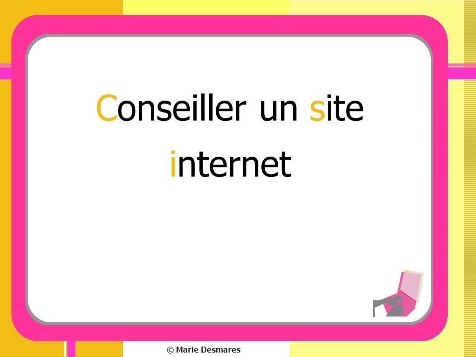 Conseiller un site internet