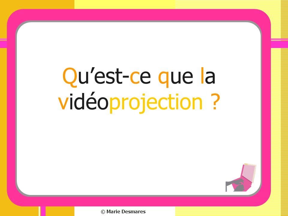 Qu'est-ce que la vidéoprojection