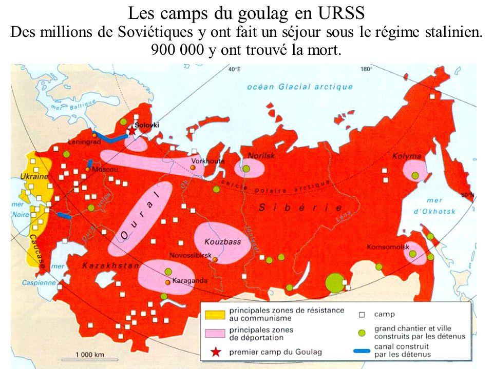 Les camps du goulag en URSS