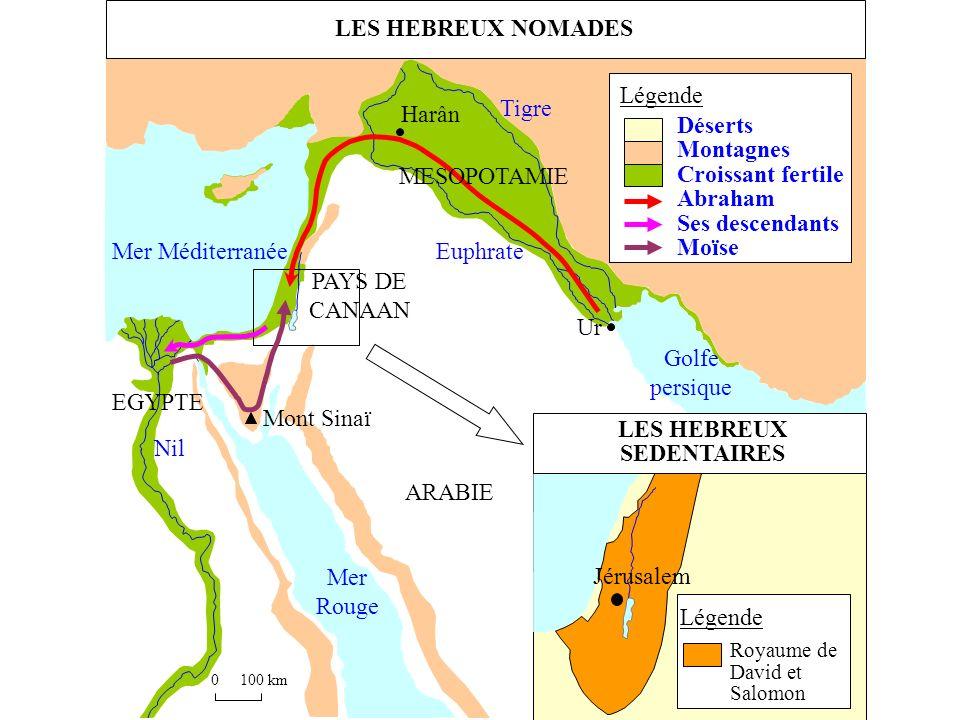 LES HEBREUX SEDENTAIRES