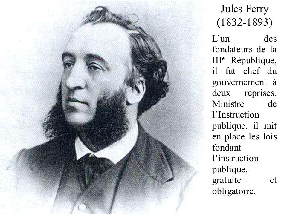 Jules Ferry (1832-1893)