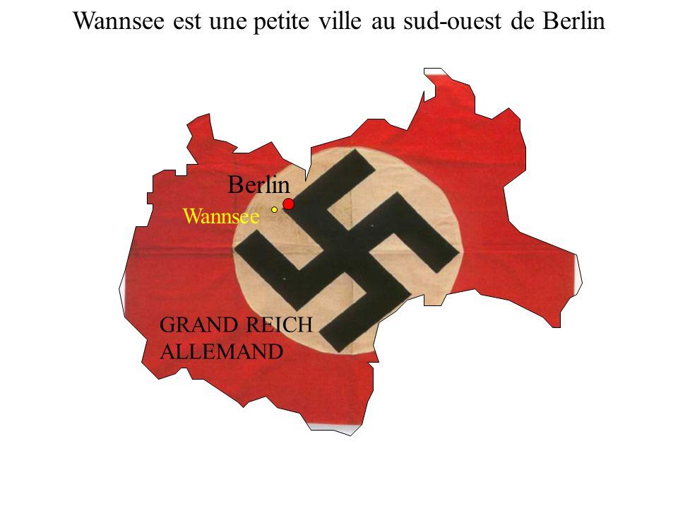 Wannsee est une petite ville au sud-ouest de Berlin