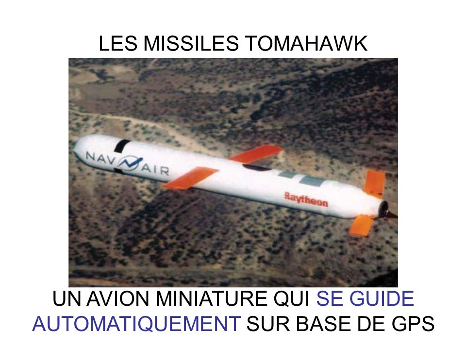 UN AVION MINIATURE QUI SE GUIDE AUTOMATIQUEMENT SUR BASE DE GPS