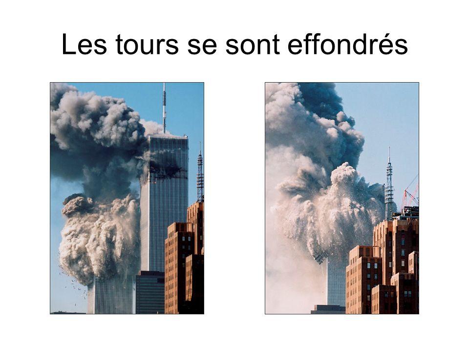 Les tours se sont effondrés