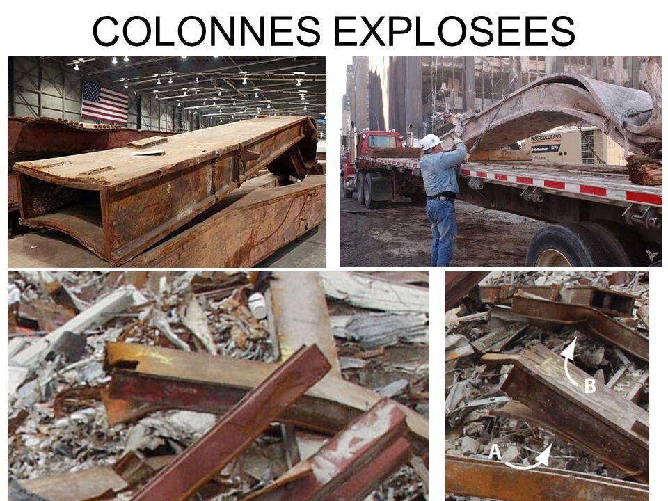 COLONNES EXPLOSEES