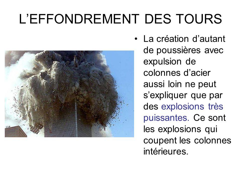 L'EFFONDREMENT DES TOURS